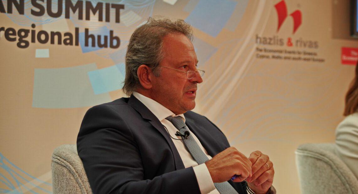 Πέτρος Σουρέτης (Intrakat): Μοναδική η συγκυρία για την ανάπτυξη της Κεντρικής Μακεδονίας