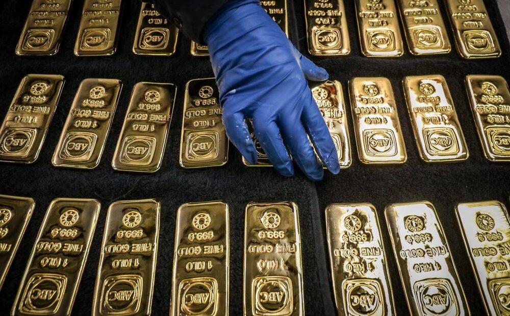 Χρυσός: Πτώση σε χαμηλό έξι εβδομάδων