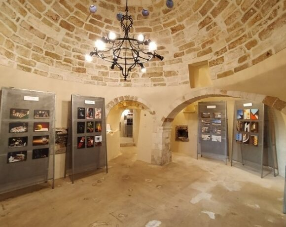 Crete: Old Hammam in Chania Now an Art Gallery