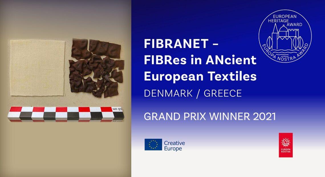 Europa Nostra: Greece-Denmark 'FIBRANET' Project Wins 2021 Grand Prix Prize