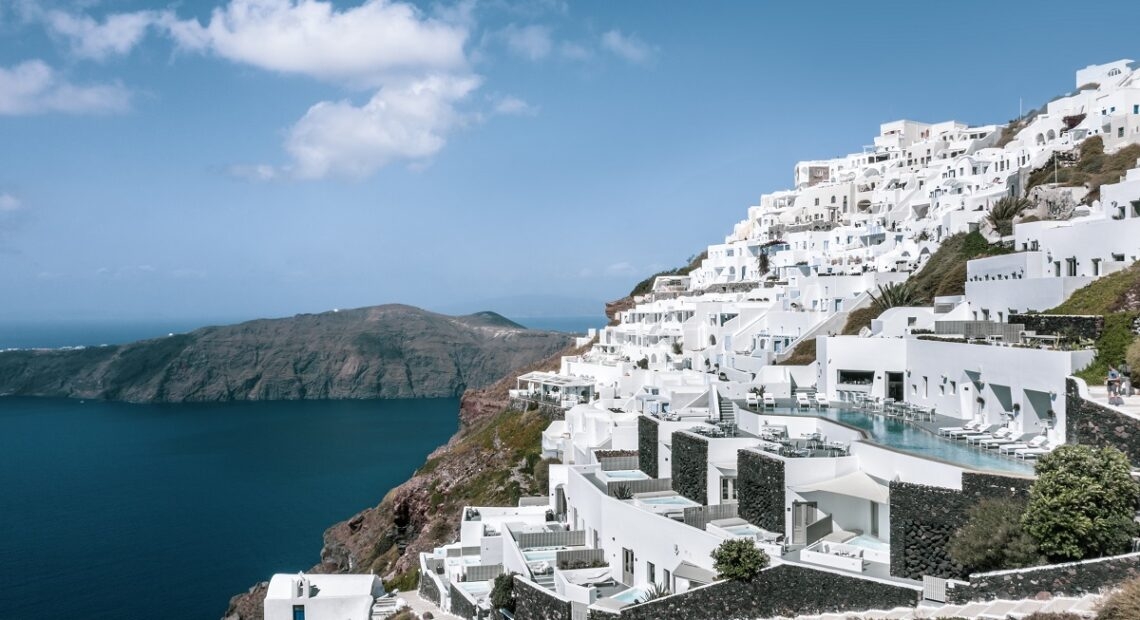 Grace Hotel Santorini Named Top Resort in Greece and Europe by T+L