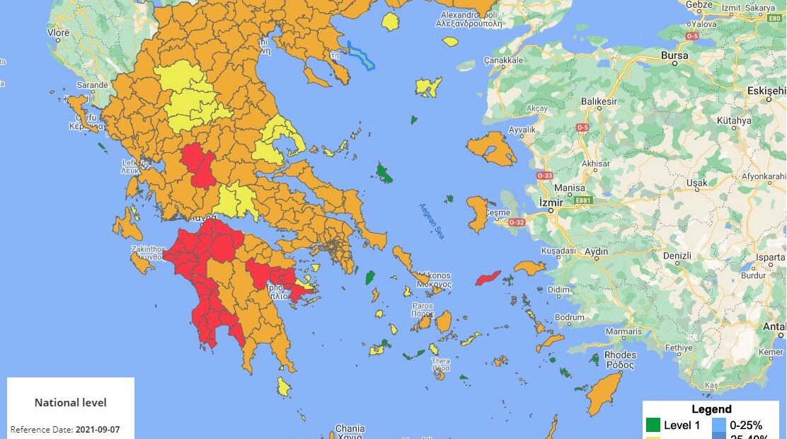 Greece Extends Covid-19 Restrictions for Heraklion, Ikaria and Three More Areas