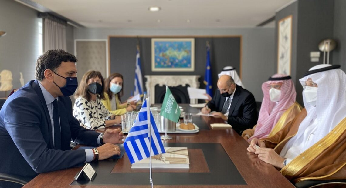 Greece–Saudi Arabia to Boost Ties with Investments, Tourism and Trade