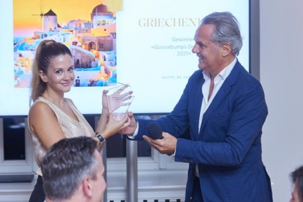 Greece Wins Best Luxury Destination of the Year Award in Germany