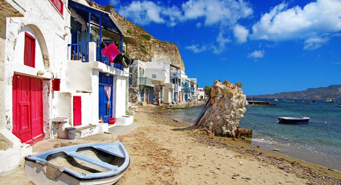 Milos, Folegandros, Santorini on T+L's 2021 World's Best Islands List