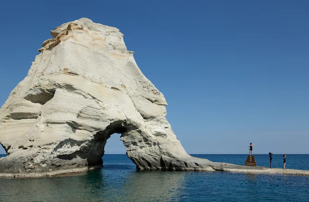 Milos Island is Louis Vuitton's Backdrop in New Brand Campaign