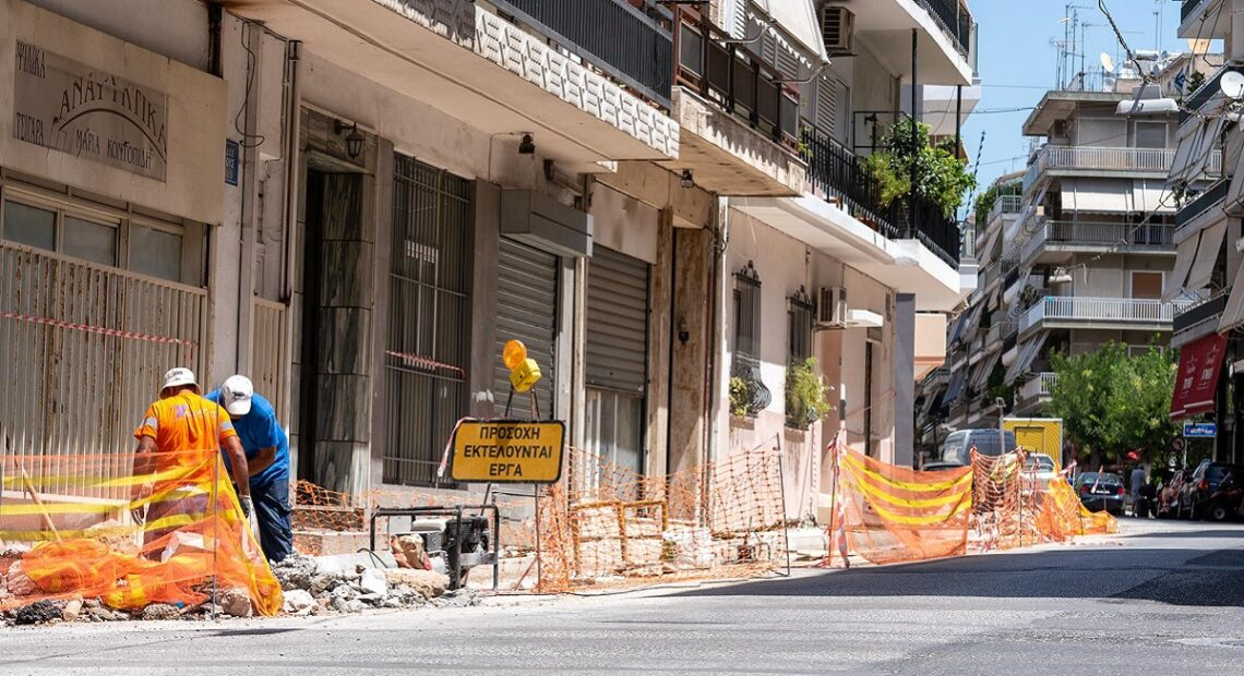 Neighborhoods in Athens are Getting New Sidewalks