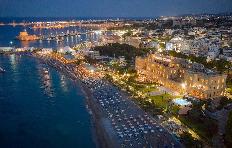 New Website for 'Grande Albergo delle Rose' Hotel on Rhodes