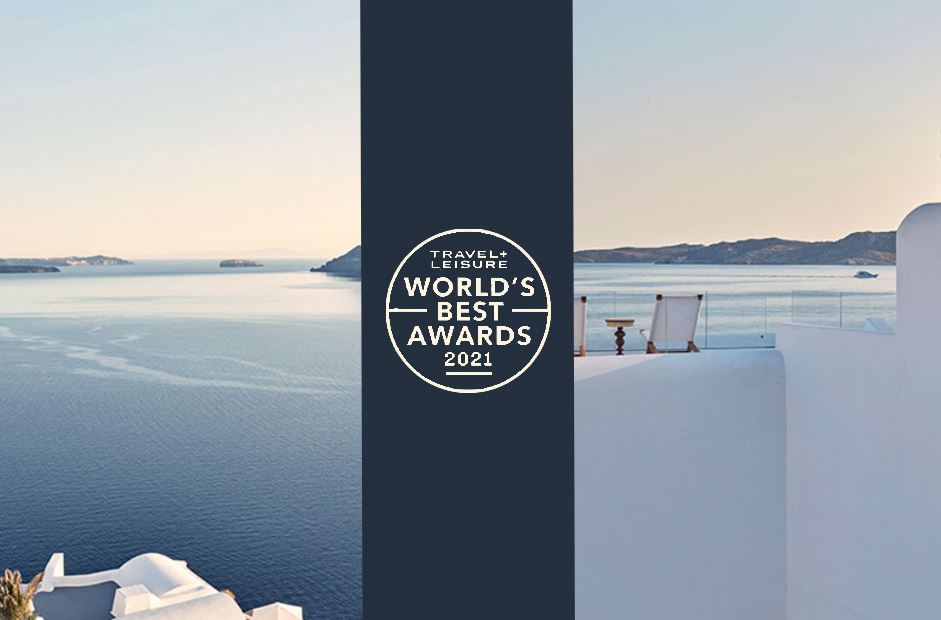 T+L Places Katikies Mykonos Hotel Among Best in the World