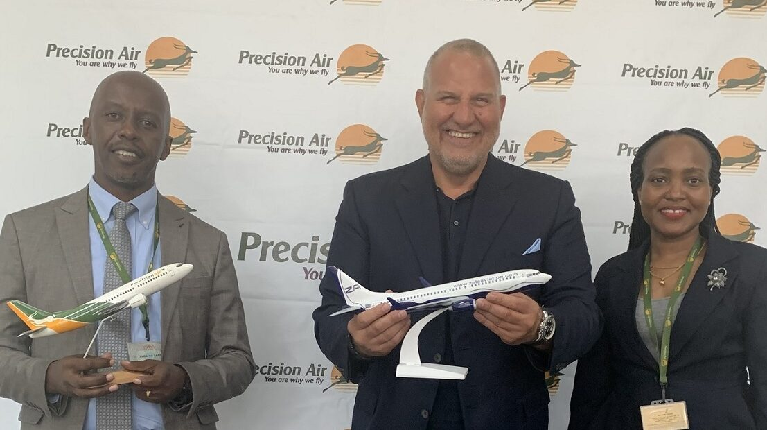 Zela Aviation Signs Strategic Agreement with Tanzania's Precision Air