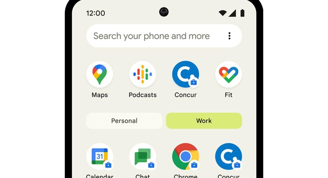 Android: Πιο εύκολος διαχωρισμός επαγγελματικής και προσωπικής ζωής