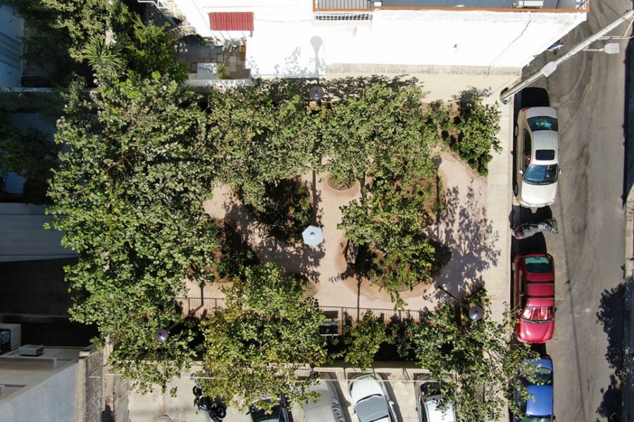 Athens Aiming to Have 10 'Pocket Parks' by End of the Year