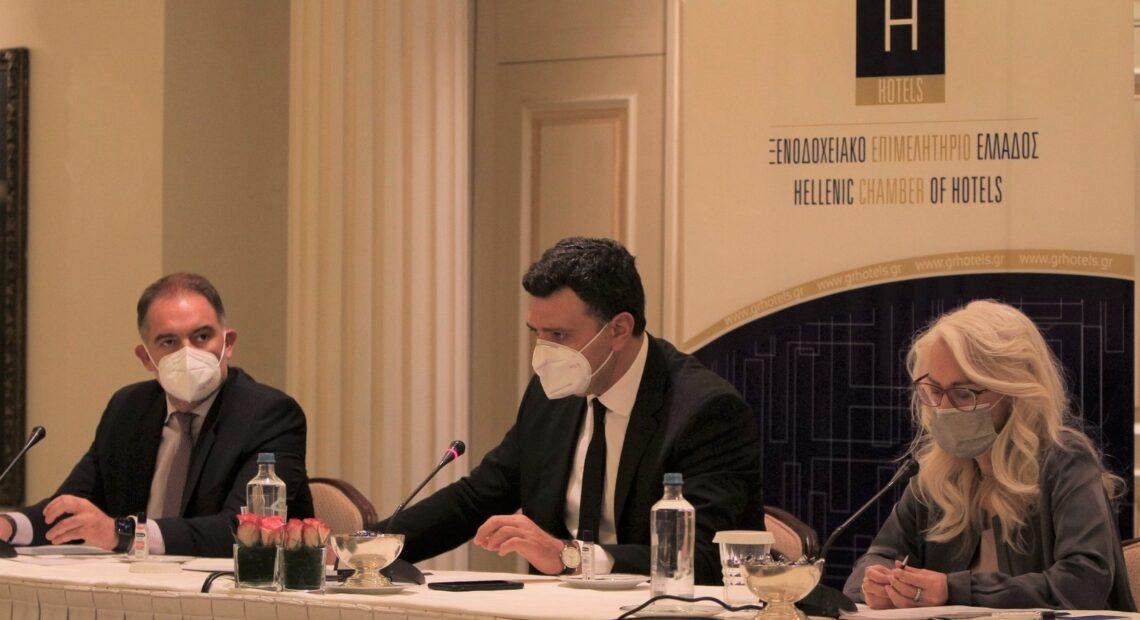 Αλ. Βασιλικός: «Η βιώσιμη Φιλοξενία να γίνει ο μεγάλος πρωταγωνιστής μιας νέας Ελλάδας» | Στο ΔΣ του ΞΕΕ ο Β