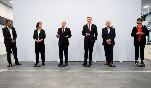 Γερμανία – Ξεκινούν οι διαπραγματεύσεις για τον σχηματισμό νέας κυβέρνησης συνασπισμού