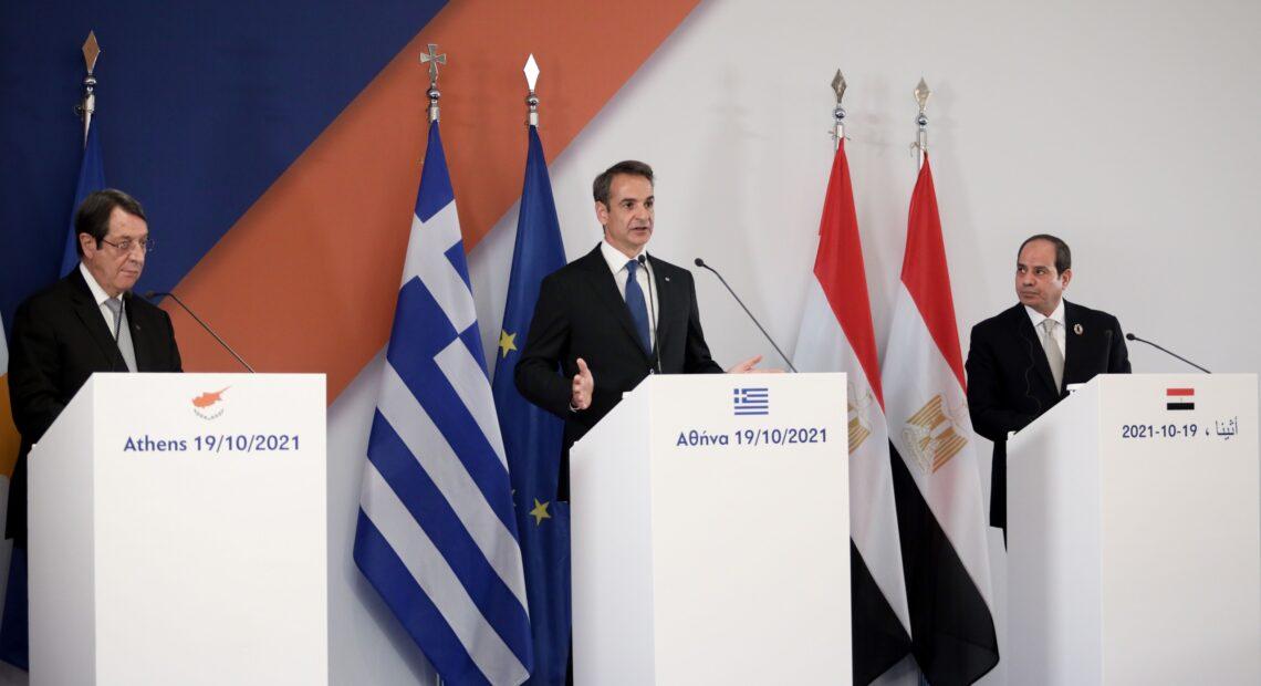 Ηχηρό μήνυμα στην Τουρκία από Ελλάδα, Κύπρο, Αίγυπτο – Οξύτατη αντίδραση της Άγκυρας