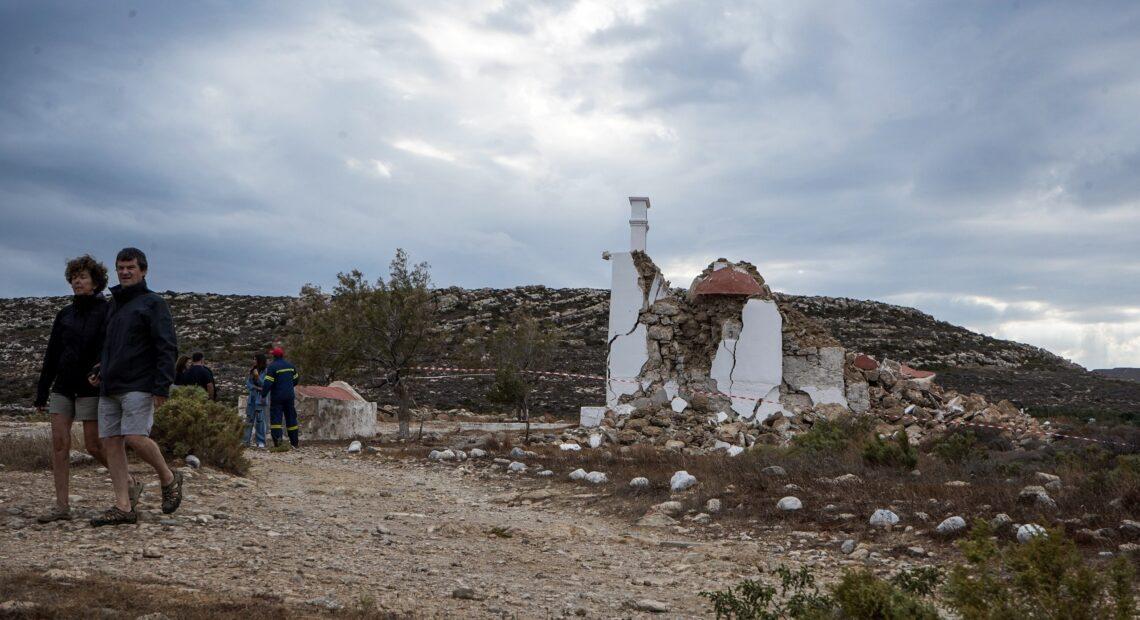 Λέκκας: Ομαλή η μετασεισμική ακολουθία στην Κρήτη – Παπαδόπουλος: Να είμαστε όλοι καλά προετοιμασμένοι