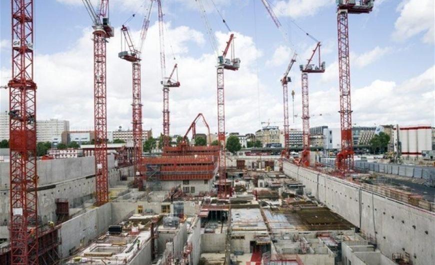 Μειώθηκε η κατασκευαστική δραστηριότητα στην Ευρωζώνη – Πτώση 1,3%