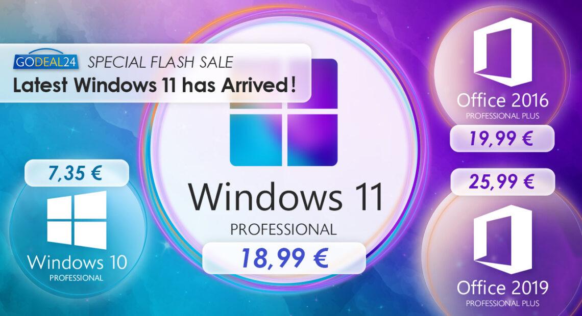 Τα Windows 11 είναι εδώ, αποκτήστε τα σε χαμηλή τιμή