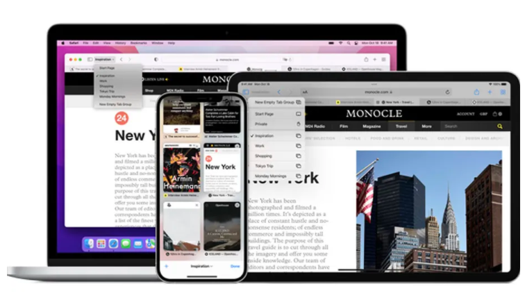 Το macOS Monterey θα έχει τον παλιό σχεδιασμό της καρτέλας Safari