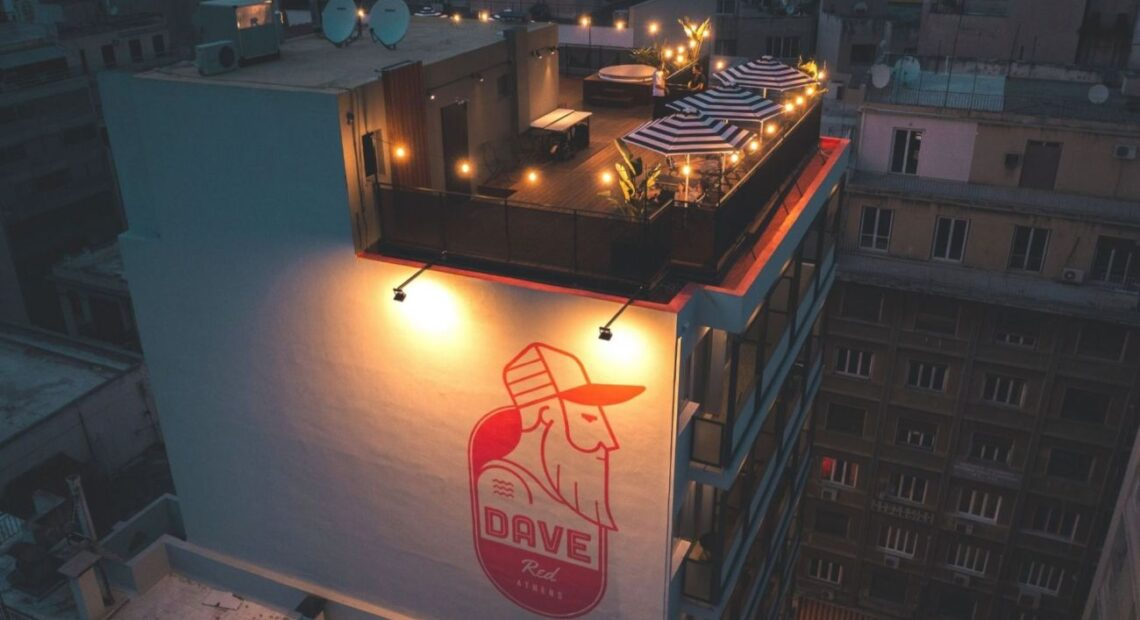 DAVE Red Athens Enters Greek Capital's Hotel Scene