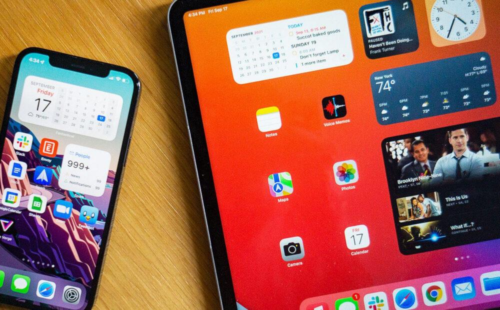 iOS και iPadOS 15.0