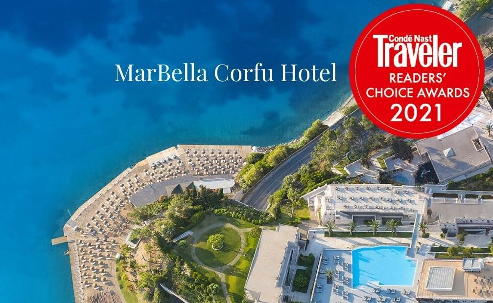 MarBella Corfu Hotel on CNT's 'Top 10 Resorts in Greece' List