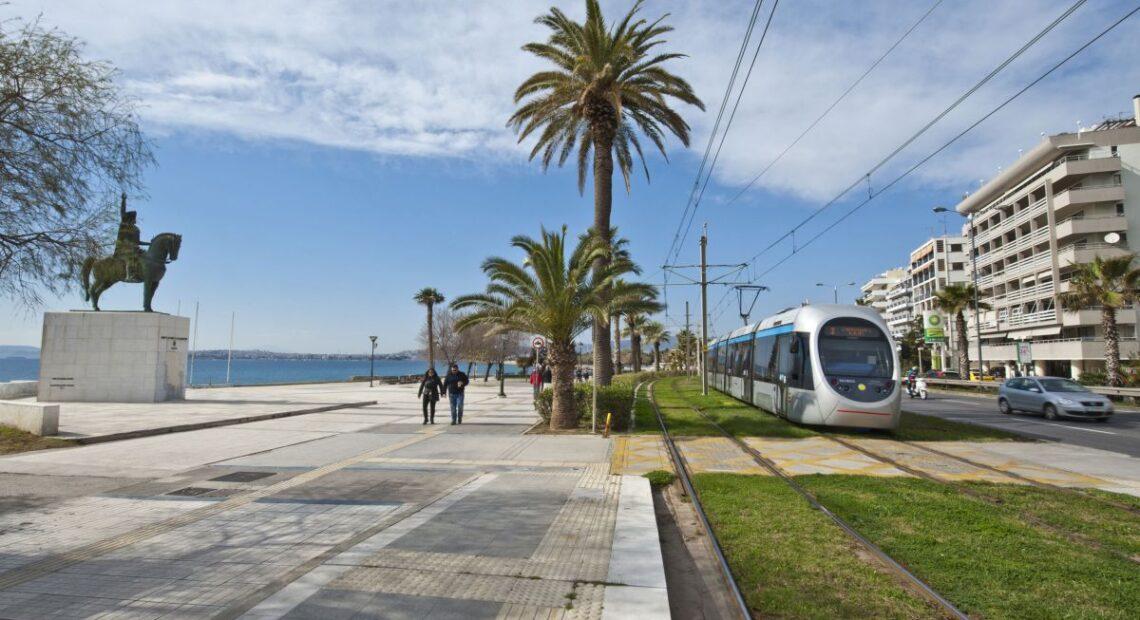 New Tram Service Ready to Start in Piraeus