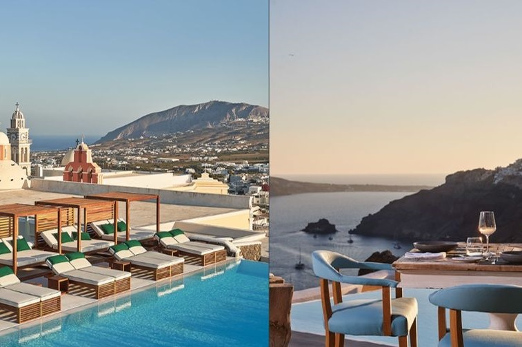 Two 'Katikies' Hotels in Greece Join Int'l Signature Travel Network